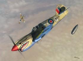 SW72064 Curtiss P - 40K Kittyhawk III