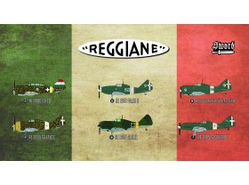 SW72110 Reggiane fighters