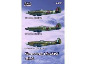 SW72133 Spitfire Mk.XIV 3 in 1