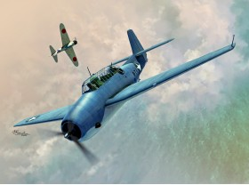 SW72136 TBF-1 Avenger over Midway and Guadalcanal